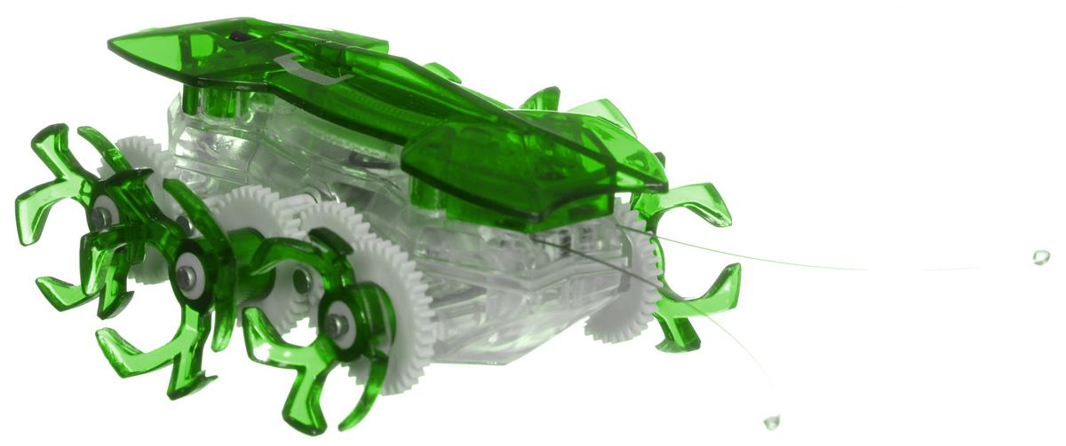 Hexbug Робот на радиоуправлении Огненный муравей цвет зеленый477-2864_2Самый быстрый микро-робот теперь стал управляемым! Fire Ant - шустрый и послушный муравей. Традиционный Hexbug Ant помещался на ладони и был неуправляемым шалуном. Поймать микро-робота было невозможно: стоило только опустить букашку на гладкую твердую поверхность, нажать кнопочку, расположенную у нее под брюшком, и муравей пускался наутек! Но время неумолимо летит вперед, все меняются и растут. Также вырос и малыш-муравей. Размеры Fire Ant стали больше, изменился внешний вид шести ножек, которые стали более цепкими. Шустрый домашний питомец и послушный друг: огненный муравей совмещает в себе все достоинства микро-роботов Hexbug. С новыми огненными муравьями возможно играть не только в одиночку, но и устраивать соревнования с друзьями, ведь пульт управления умного микро-робота имеет несколько каналов: настройте их на разные каналы и два огненных муравья смогут соревноваться друг с другом! Питание: 5 батареек AG-13 (входят в комплект).