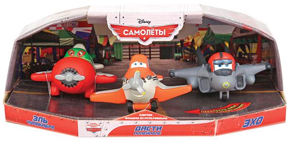 Пластизоль GT7940 Самолеты Дасти озвученный, Чупакабра и Эхо, в коробкеGT7940Герои Дасти, Чупакабра и Эхо популярного мультфильма озвучены фразами из мультфильма. Игрушки сделают игры малыша не только более увлекательными, но и полезным - они развивают тактильные навыки и координацию, логическое мышление, понятия формы и цвета.