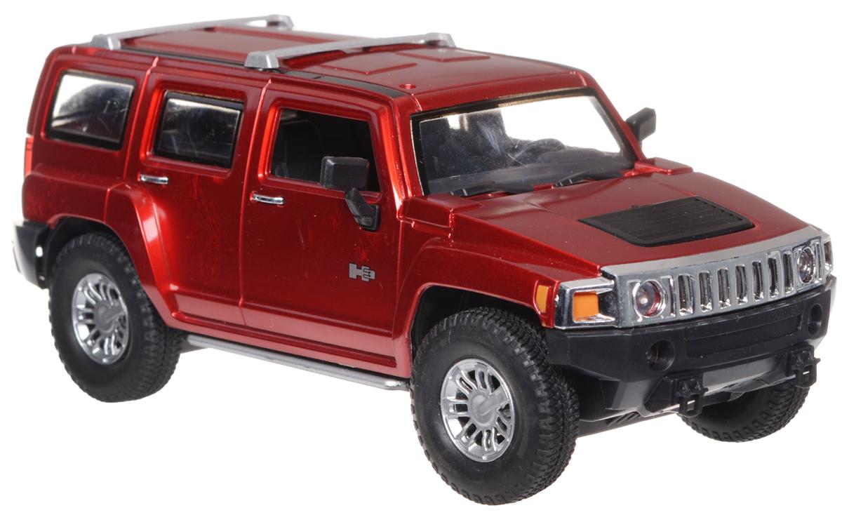Guokai Машинка инерционная Hummer H2 SUT цвет красный866-82433_красныйИнерционная машинка Guokai Hummer H2 SUT, выполненная из высококачественного пластика, станет любимой игрушкой вашего малыша. Игрушка представляет собой модель пикапа марки Hummer. Игрушка оснащена инерционным ходом. Машинка может ехать как вперед, так и назад. Прорезиненные колеса обеспечивают надежное сцепление с любой гладкой поверхностью. При движении у машинки загораются фары. Ваш ребенок будет часами играть с этой игрушкой, придумывая различные истории. Порадуйте его таким замечательным подарком! Рекомендуется докупить 3 батарейки напряжением 1,5V типа АА (товар комплектуется демонстрационными).