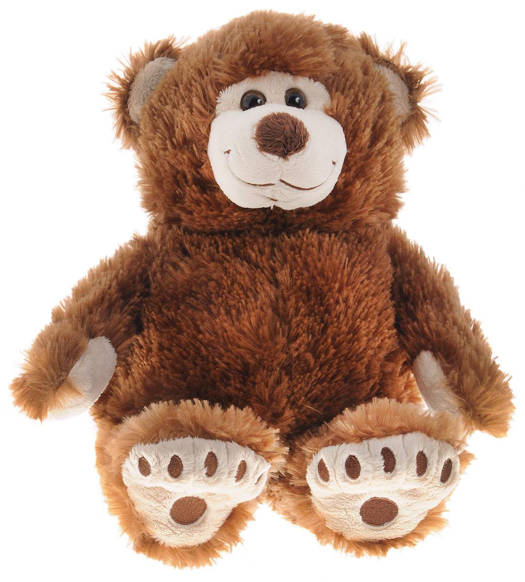 Plush Apple Мягкая игрушка Медведь Аркаша 38 см цвет коричневыйК95605B6,B9_коричневыйОчаровательная мягкая игрушка Plush Apple Медведь Аркаша выполнена в виде трогательного медвежонка с карими глазками. Игрушка изготовлена из высококачественного нежного текстильного материала. На лапках медвежонка вышиты следы, глазки выполнены из безопасного пластика. Удивительно мягкая игрушка принесет радость и подарит своему обладателю мгновения нежных объятий и приятных воспоминаний. Великолепное качество исполнения делают эту игрушку чудесным подарком к любому празднику. Трогательная и симпатичная, она непременно вызовет улыбку у детей и взрослых.