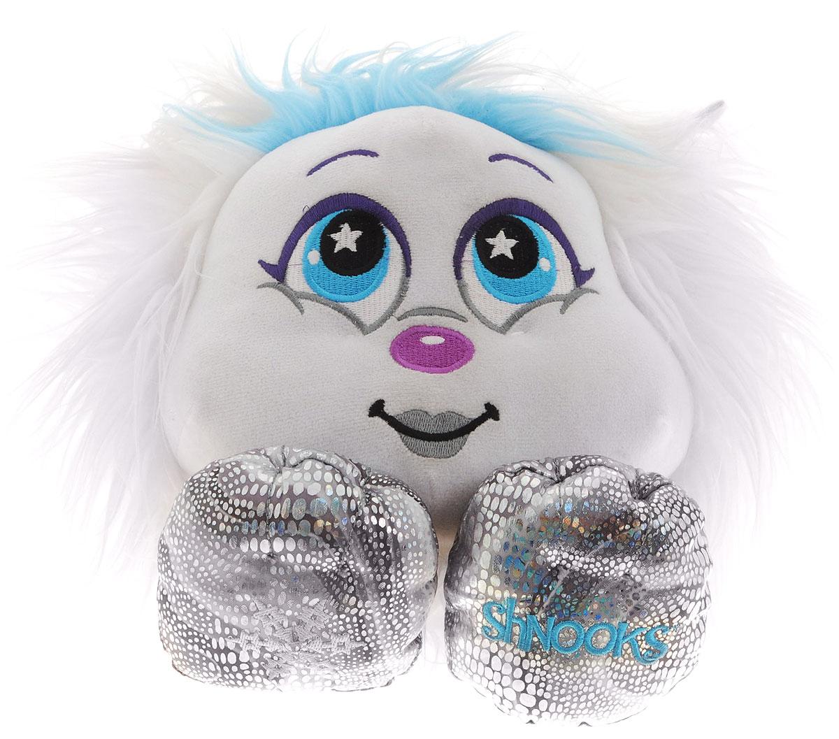 Zuru Мягкая игрушка Big Shnooks цвет белый 23 см203_белыйМягкая игрушка Zuru Big Shnooks привлечет внимание вашей малышки и станет для нее лучшим другом. Shnooks (Шнукс) - забавный плюшевый мохнатик с веселой мордочкой, маленьким носиком, добрыми глазками и пухлыми маленькими лапками. Все зверюшки Shnooks любят, когда их обнимают, гладят, заплетают косички и создают различные прически. Перед использованием игрушку необходимо достать из упаковки и потрясти. Объем волос игрушки сильно увеличится. Такая замечательная игрушка подарит вашей малышке множество часов приятных объятий, а также позволит ей проявить свой парикмахерский талант.