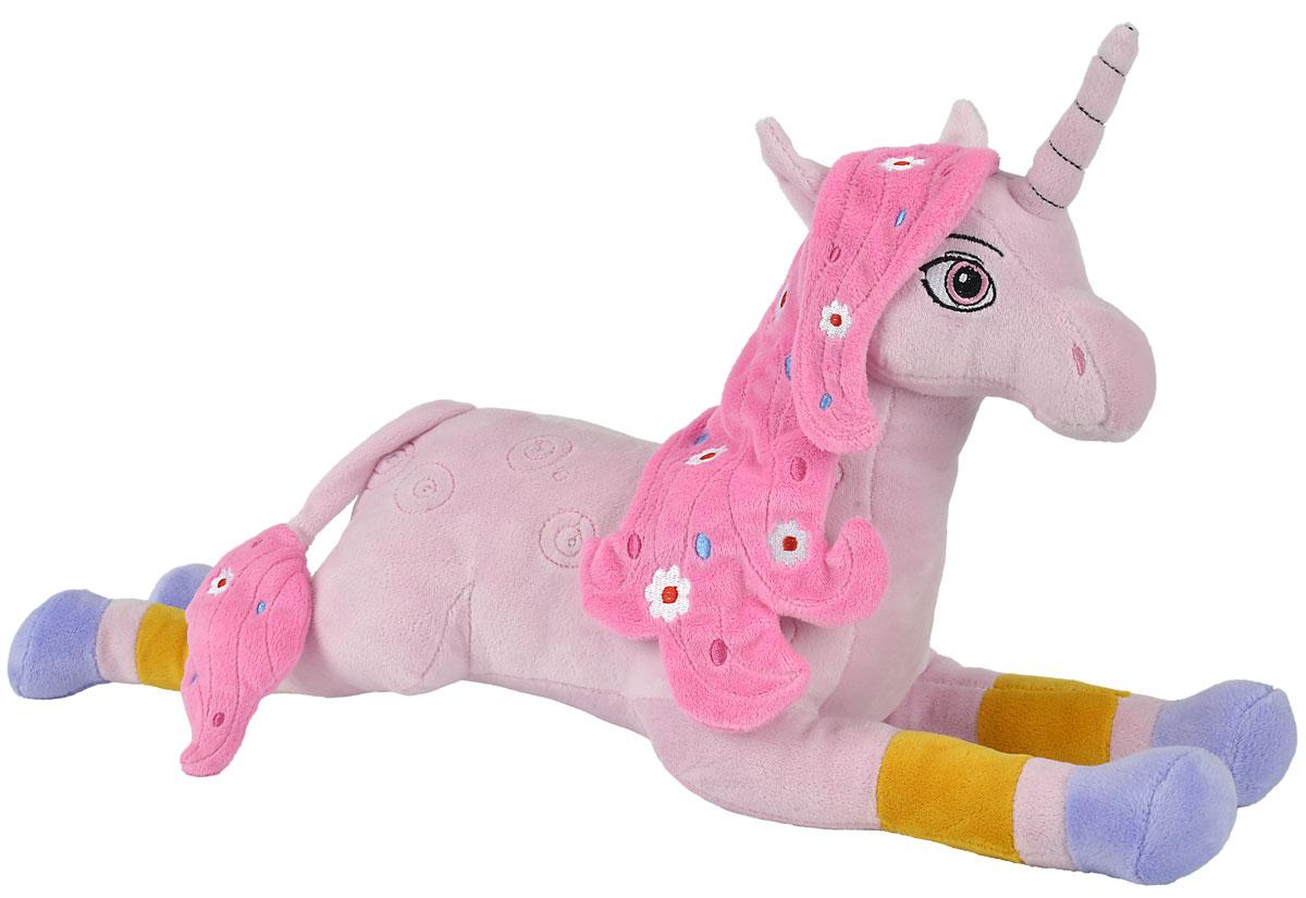 Mia and Me Мягкая игрушка Единорог Lyria9487735Мягкая игрушка Mia and Me Единорог Lyria станет чудесным подарком вашему малышу! Фигурка изготовлена из высококачественного гипоаллергенного материала, который абсолютно безвреден для ребенка. Игрушка, созданная по мотивам мультфильма Mia and Me, украсит любую детскую комнату и принесет радость и веселье во время игр. Мягкая игрушка Единорог Lyria поможет развить тактильные навыки, зрительную координацию, воображение и мелкую моторику рук. Порадуйте своего ребенка таким замечательным подарком!