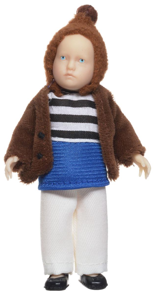 Pupsique Мини-кукла в коричневом жакете