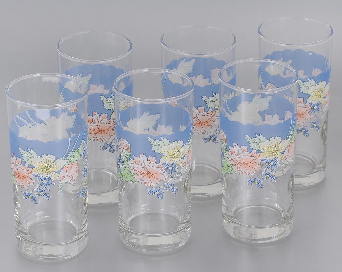 Набор стаканов Luminarc Florine, 270 мл, 6 штC7003Набор Luminarc Florine состоит из 6 высоких стаканов, выполненных из высококачественного стекла и украшенных ярким цветочным рисунком. Изделия имеют стильный дизайн, изящную форму и ослепительный блеск. Подходят для сока, воды, лимонада и других напитков. Такой набор станет прекрасным дополнением сервировки стола, подойдет для ежедневного использования и для торжественных случаев. Можно мыть в посудомоечной машине. Диаметр стакана (по верхнему краю): 6 см. Высота стакана: 13,5 см.