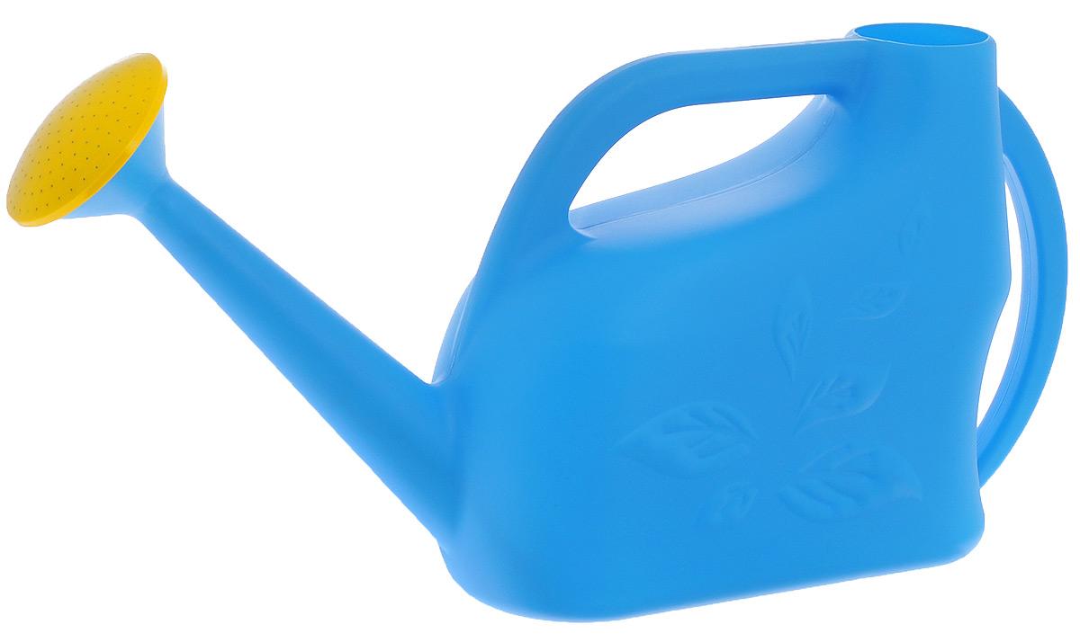 Лейка Альтернатива Листок, цвет: голубой, 9 лМ874_голубойСадовая лейка Альтернатива Листок, изготовленная из высококачественного пластика, предназначена для полива насаждений на приусадебном участке. Она имеет небольшую массу, что позволяет экономить силы при поливе. Удобство в использовании также обеспечивается за счет эргономичной ручки лейки. Изделие оснащено рассеивателем для большей площади полива.