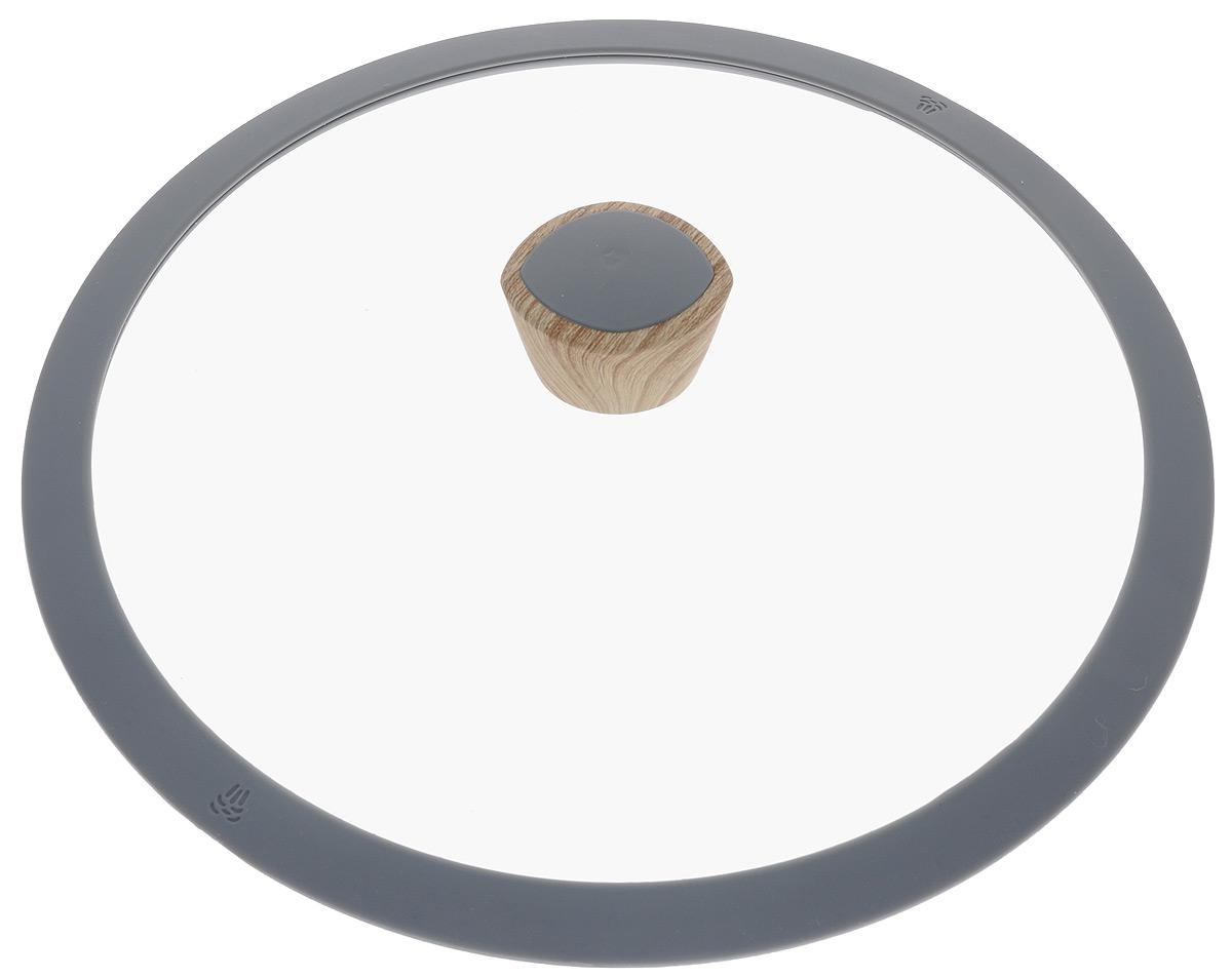 Крышка Nadoba Mineralica, диаметр 28 см751211Крышка Nadoba Mineralica изготовлена из жаропрочного закаленного стекла. Силиконовый обод обеспечивает плотное прилегание крышки и предохраняет бортики посуды от повреждений. Удобная ненагревающаяся ручка с покрытием Soft-Touch предотвращает выскальзывание. Можно мыть в посудомоечной машине.