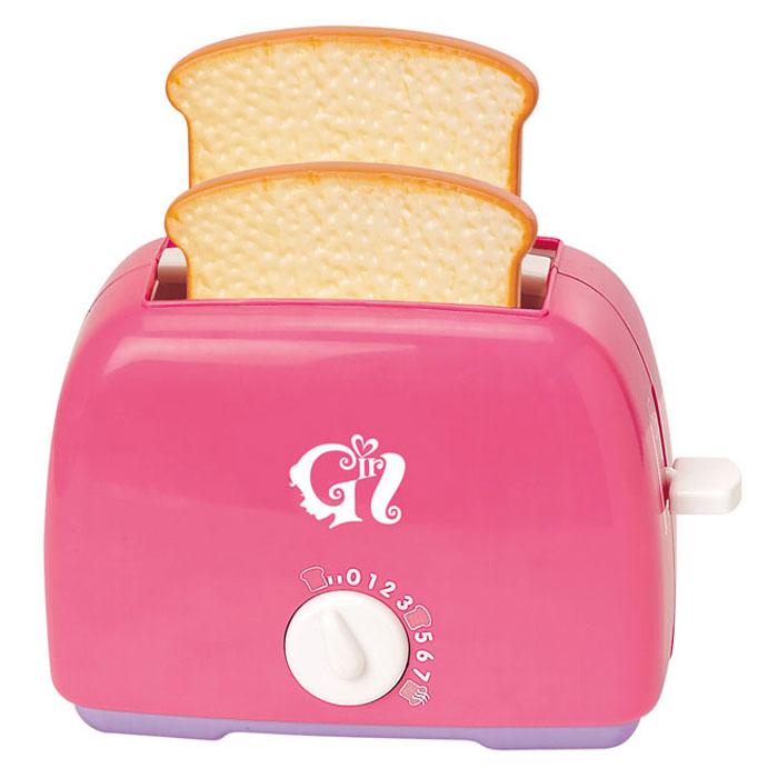 Playgo Игровой набор Тостер, цвет: розовыйPlay 3155GИгровой набор Playgo Тостер привлечет внимание вашего маленького кулинара и не позволит ему скучать. Набор включает в себя тостер и 2 кусочка хлеба. Игрушечный тостер очень похож на настоящий кухонный прибор! Поместите тосты внутрь и поверните выключатель - и он начнет поворачиваться обратно с характерным тиканьем, а когда отсчет закончится - тосты выпрыгнут наружу. С таким набором ваш малыш сможет приготовить для своих игрушек вкусный завтрак. Игрушечная бытовая техника не только развлекает ребенка, но и знакомит его с правилами использования электроприборов. Порадуйте его таким замечательным подарком!
