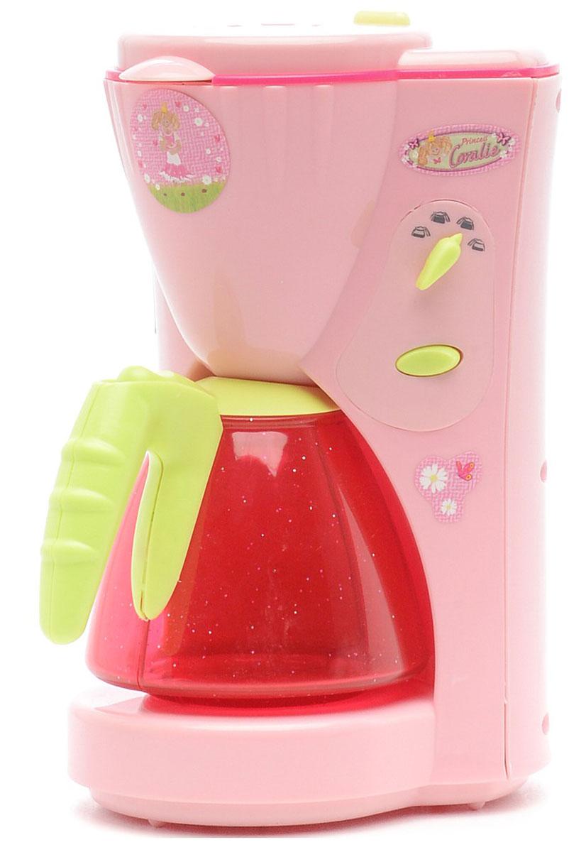 Klein Игрушечная кофеварка Coralie9469Игрушечная кофеварка Klein Princess Coralie имитирует работу настоящего прибора. Имеется переключатель с несколькими режимами. В верхний резервуар можно заливать воду, оттуда она перетекает в прозрачный кофейник. Маленькая хозяйка с удовольствием приготовит чашечку вкусного кофе к завтраку и угостит всех желающих. Игрушка помогает ребенку пройти бытовую адаптацию и выработать привычку заботиться о своих близких.