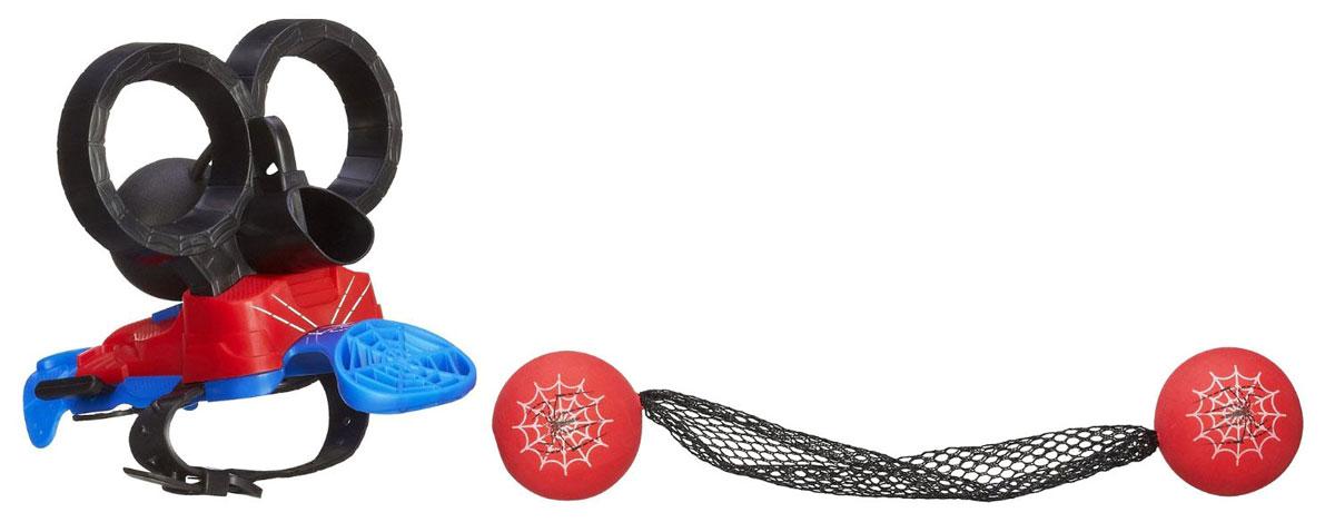 Spider-Man Игровой набор Шутер Человека-ПаукаA6748Игровой набор «Шутер Человека-Паука» станет прекрасным подарком для вашего ребенка и подарит новые ощущения от игры. С его помощью можно стрелять паутиной, как любимый кино-герой. Закрепите шутер на запястье, зарядите его специальными шарами и стреляйте, как настоящий Человек-Паук. У злодеев нет ни единого шанса! Человек-паук - супергерой, получивший суперсилу, увеличенную ловкость, паучье чутье, а также способность держаться на отвесных поверхностях и выпускать паутину из рук. Теперь он готов наказать злодеев, которые покушаются на покой его родного города!