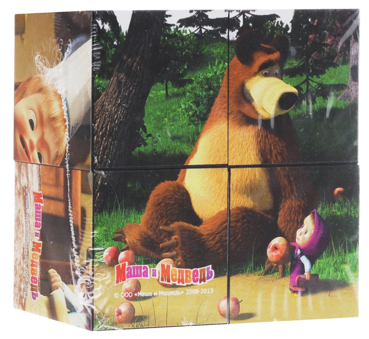 Step Puzzle Кубики Маша и Медведь Яблоки87132_яблокиС помощью четырех кубиков Step Puzzle Маша и Медведь: Яблоки ребенок сможет собрать целых шесть красочных картинок с изображением героев из одноименного мультфильма. Игра с кубиками развивает зрительное восприятие, наблюдательность и внимание, мелкую моторику рук и произвольные движения. Ребенок научится складывать целостный образ из частей, определять недостающие детали изображения. Это прекрасный комплект для развлечения и времяпрепровождения с пользой для малыша.
