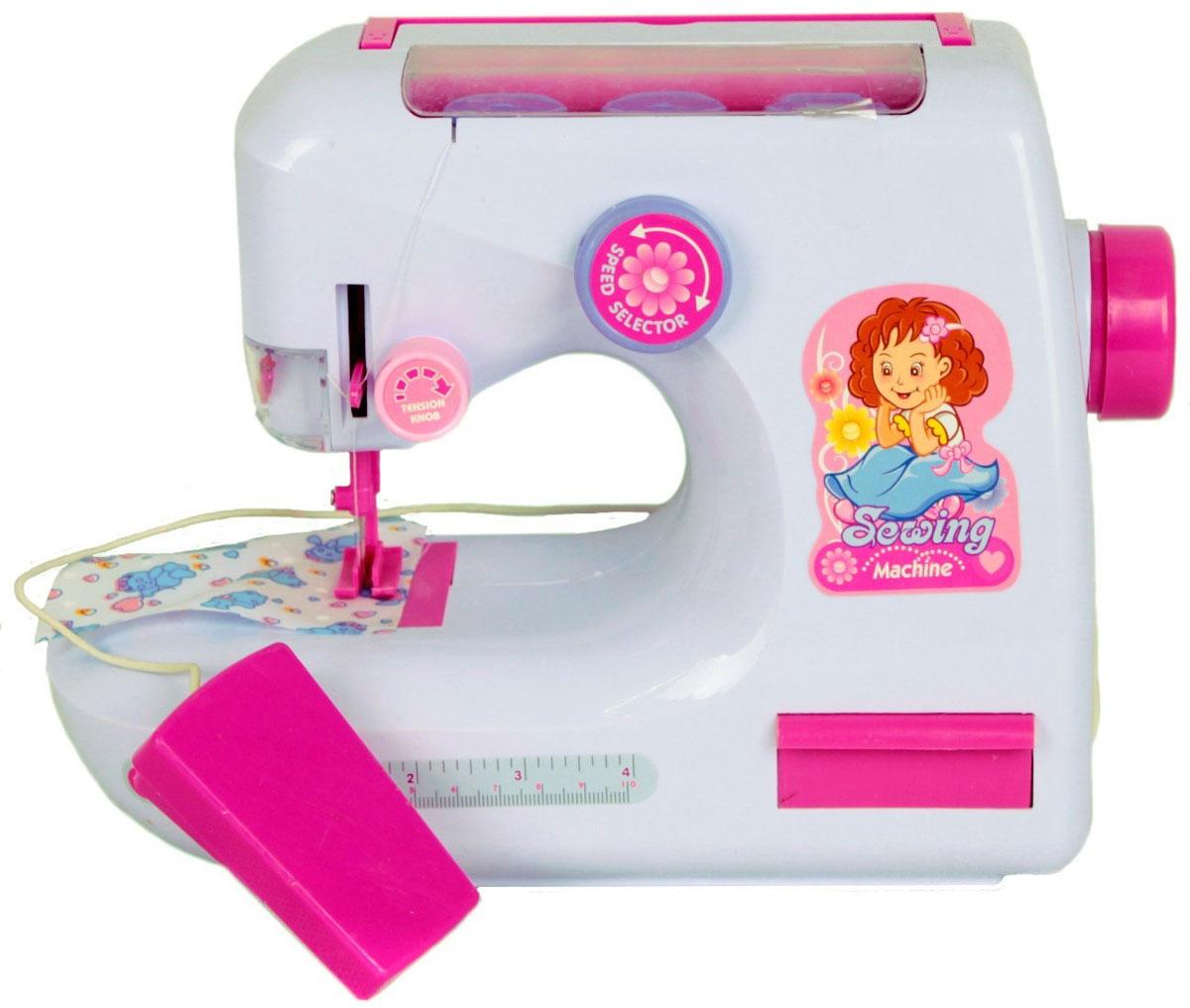 ABtoys Игровой набор Помогаю Маме Швейная машинка с аксессуарами