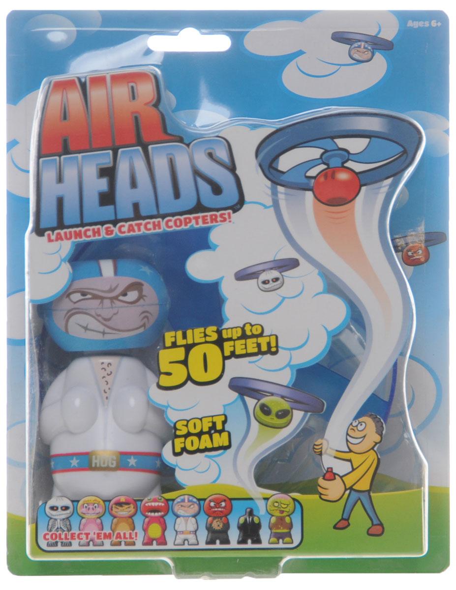 Air Heads Игрушка Hog Wild Super Dean52400_SUPER DEANИгрушка Hog Wild Air Heads: Super Dean обязательно порадует вашего малыша! Корпус и пропеллер игрушки выполнены из прочного пластика, а голова - из мягкого вспененного полимера. Соедините пропеллер с головой фигурки до щелчка и потяните за пусковой шнур, держа фигурку на расстоянии вытянутой руки. Голова игрушки сорвется с плеч и взлетит вверх на высоту до 15 метров! Устройте соревнование головолетов с друзьями, проверьте, кто сможет запустить свой головолет дальше или выше. Игрушка совместима с другими игрушками из серии Air Heads - меняйте их головы и создайте собственного монстра! Такая игрушка понравится любому малышу и подарит ему немало веселых моментов и массу удовольствия. Порадуйте своего ребенка таким замечательным подарком!