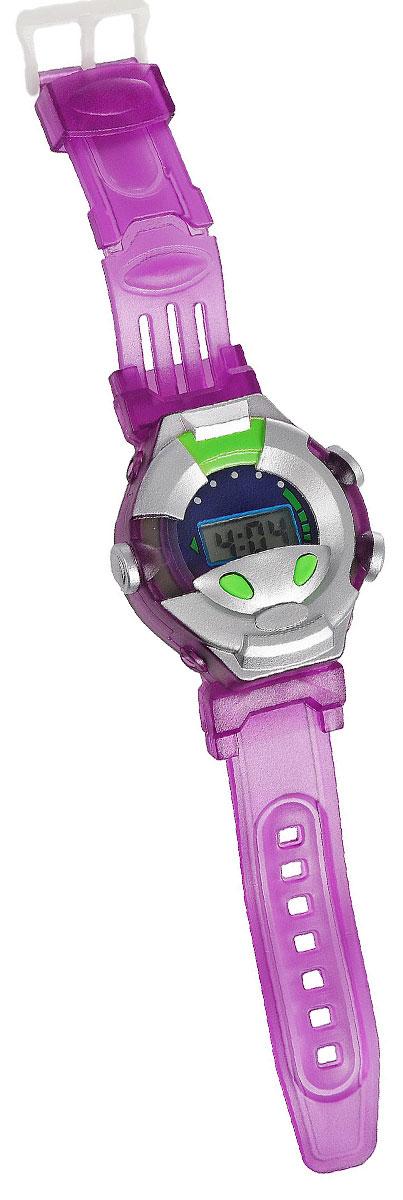 Играем вместе Игрушка Turtles Шпионские часы, цвет: серебристый, фиолетовый9026Игрушка Turtles Шпионские часы непременно понравится вашему маленькому непоседе. Цифровые часы выполнены из безопасного пластика, оснащены дисплеем и двумя кнопками и имеют стильный дизайн. С ними ваш ребенок всегда будет знать точные время и дату. Прорезиненный ремешок часов регулируется. В комплект входит инструкция по эксплуатации на русском языке. Порадуйте своего ребенка таким замечательным подарком! Рекомендуется докупить 1 батарейку мощностью 1,5V типа LR41 (товар комплектуется демонстрационной).