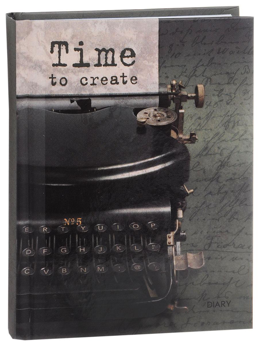 Listoff Ежедневник Время творчества недатированный 160 листов ( ЕЖЛ16616003 )