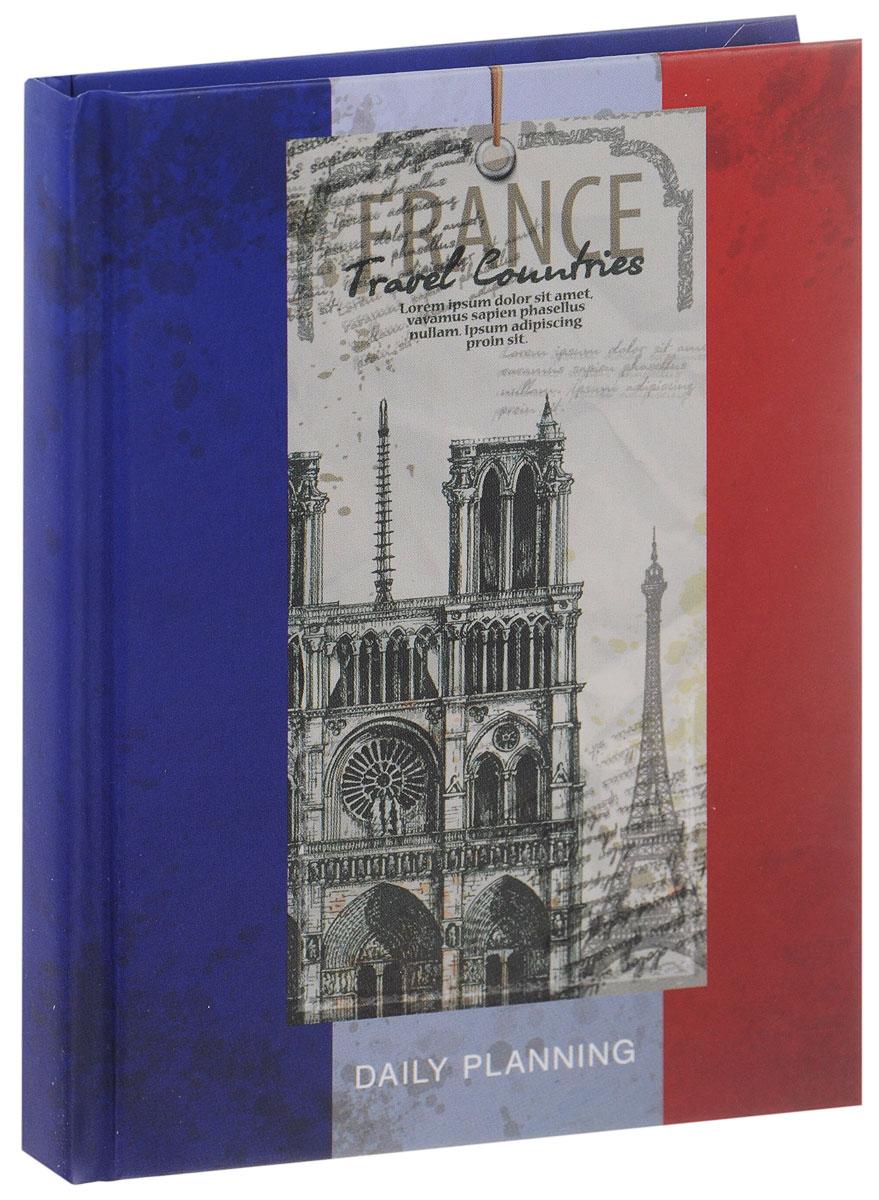 Listoff Ежедневник Франция недатированный 112 листов