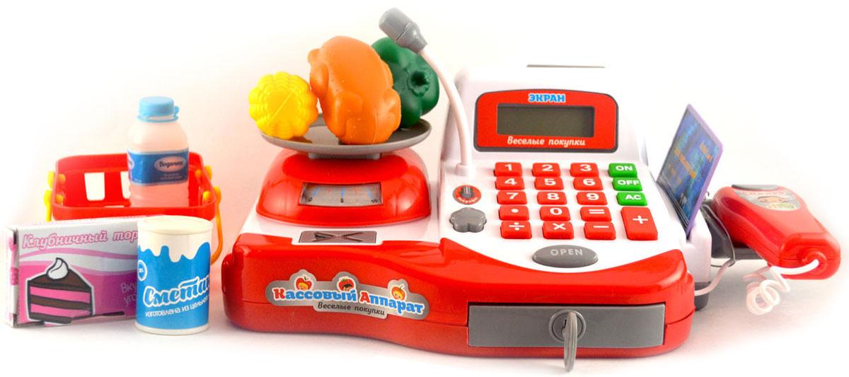 Genio Kids Кассовый аппарат Веселые покупки031NЭта развивающая игрушка позволит в увлекательной форме освоить цифры и базовые навыки счета. Для деток игра в магазин – это возможность почувствовать себя чуточку постарше, самостоятельнее, проявить свои творческие способности в процессе создания сюжета игры.