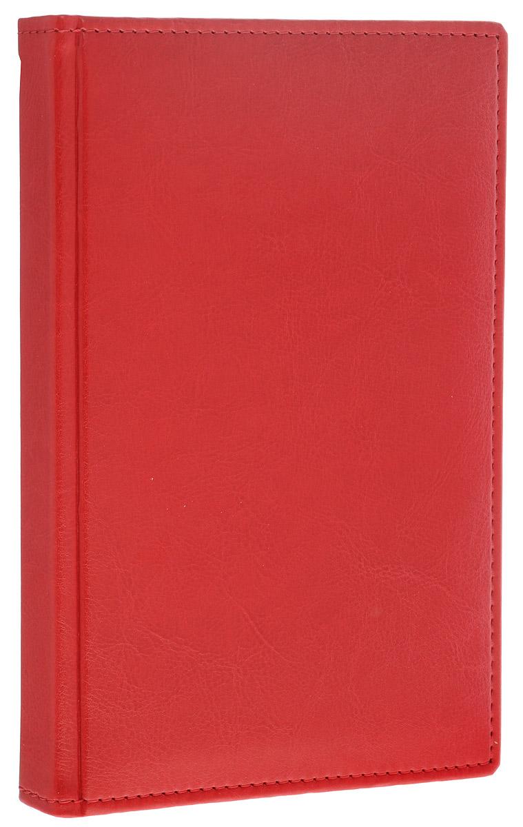 Berlingo Ежедневник Sarif Classic недатированный 176 листов цвет красный