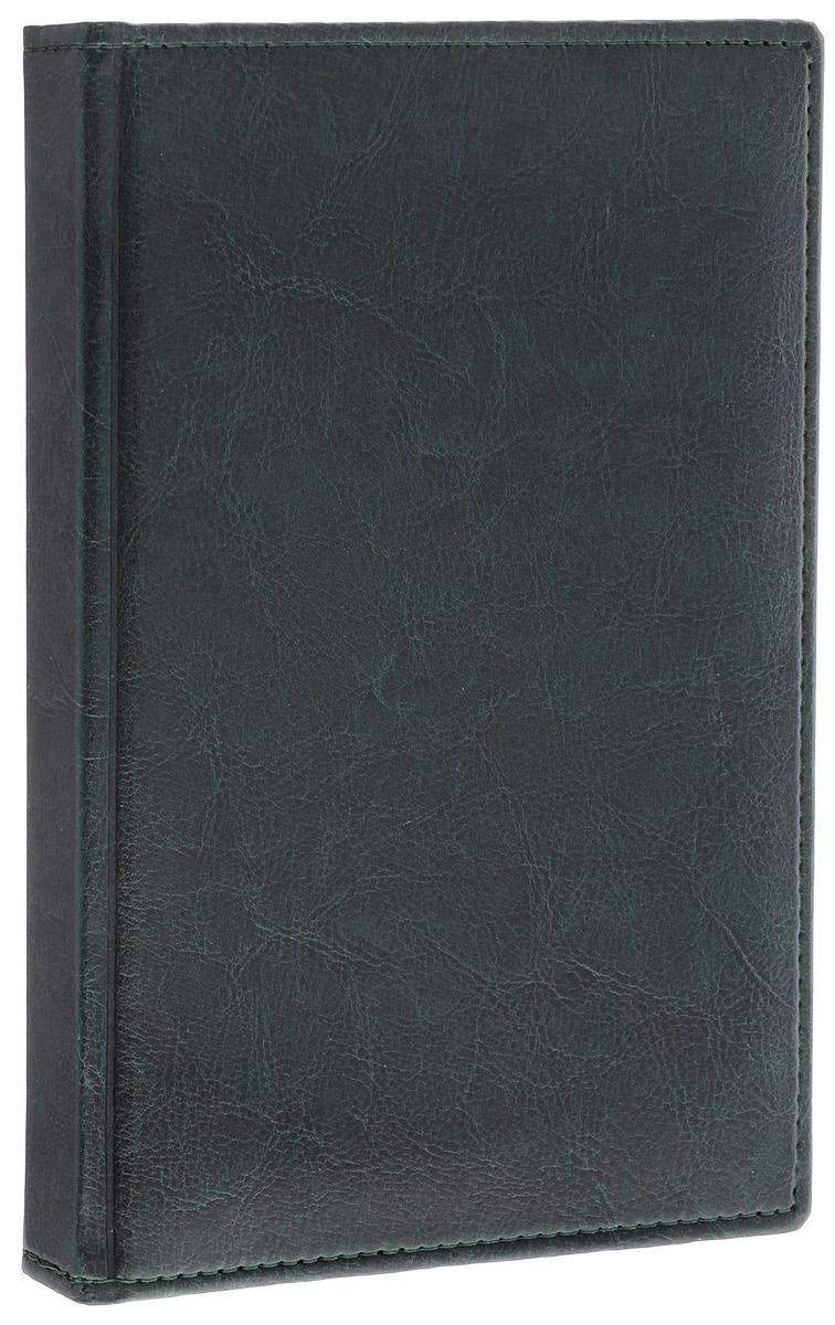 Berlingo Ежедневник Sarif Classic недатированный 176 листов цвет зеленый