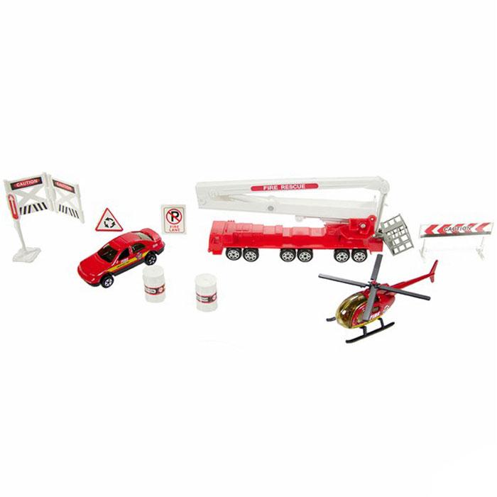 Big Motors Набор игровой Пожарная служба