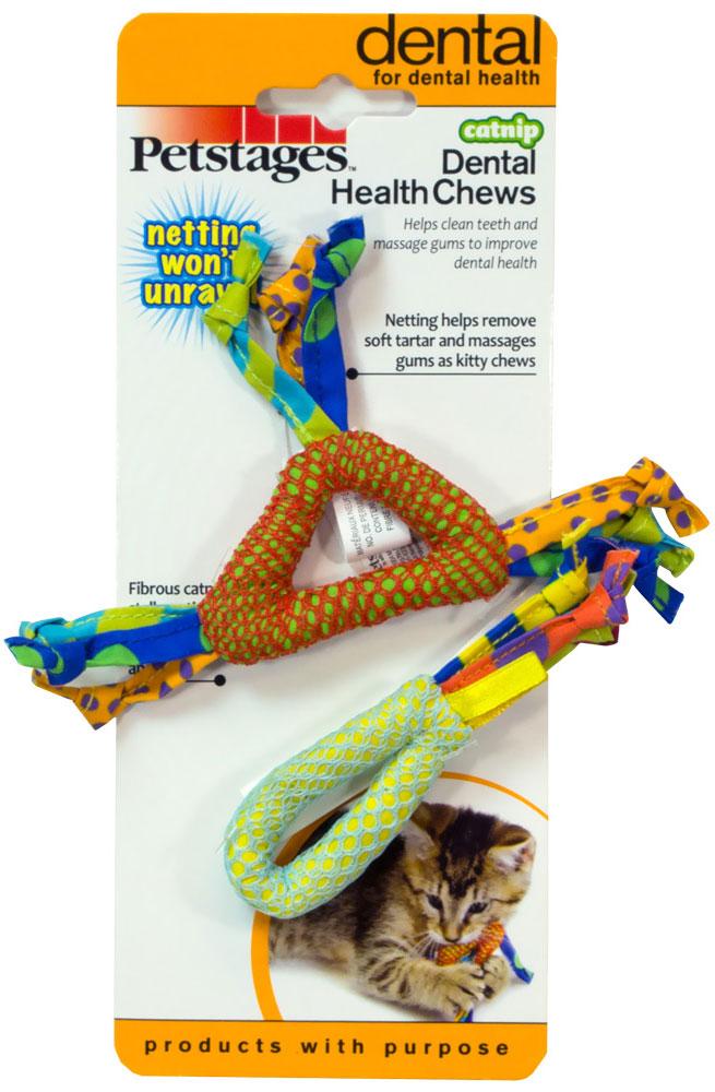Игрушка для кошек Petstages Dental Health Chews, 2 шт326YEXDental Health Chews от Petstages - игрушки для кошек, которые ухаживают за здоровьем ротовой полости. Уникальная супер-прочная нейлоновая сеточка, покрывающая игрушки, мягко и бережно очищает зубы от налета и остатков пищи. А для того, чтобы Ваш питомец не потерял интереса к игрушке, она наполнена стебельками кошачьей мяты, которые не только привлекают внимание, но и массажируют десна, улучшая кровообращение. Размер игрушки: 14 см х 8 см х 1 см. Количество в упаковке: 2 шт. Товар сертифицирован.