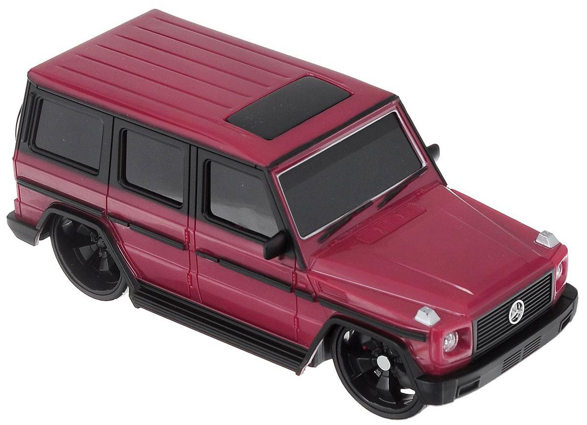 Maisto Радиоуправляемая модель Mercedes-Benz G-Class цвет красный81051_красный_1745Радиоуправляемая модель Maisto Mercedes-Benz G-Class с ярким привлекающим внимание дизайном обязательно понравится всем любителям красивых машин. Корпус выполнен из высококачественного пластика. Машина представляет собой копию, уменьшенную от реального прототипа в 24 раза. Машина высокодетализирована, с настоящими зеркалами, двери не открываются. Двигается во всех направлениях: вперед, назад, влево, вправо. Имеются световые эффекты: светятся задние и передние фары, поворотники, стоп сигналы. Автомобиль оснащен профессиональным передатчиком с частотой 27 MHz. Управление с помощью дистанционного пульта управления (поставляется в комплекте). В комплекте инструкция по эксплуатации на русском языке. Для работы машины необходимо докупить 2 батарейки напряжением 1,5V типа АА (не входят в комплект). Для работы пульта управления необходимо докупить 2 батарейки напряжением 1,5V типа АА (не входят в комплект).