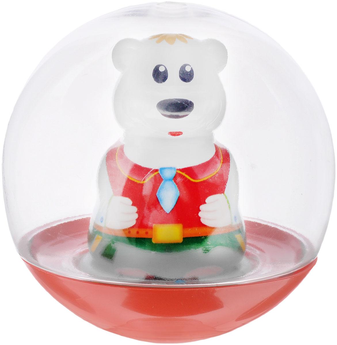 Stellar Погремушка-неваляшка Мишка цвет красный галстук голубой1579_красный_голубой галстукПогремушка-неваляшка Stellar Мишка не позволит скучать вашему малышу на улице, дома и во время водных процедур. Игрушка выполнена из пластика в виде симпатичного медвежонка в прозрачном шаре. Неваляшка забавно покачивается под приятный звук погремушки, развлекая малыша. Игра с неваляшкой способствует развитию мелкой моторики, координации, слуха и цветового восприятия.