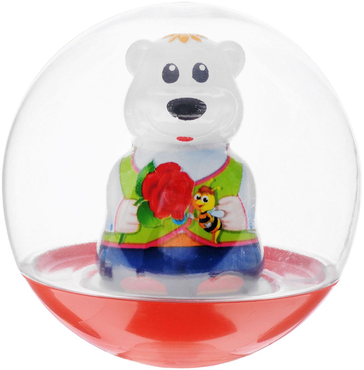 Stellar Погремушка-неваляшка Мишка цвет красный рубашка голубая1579_красный_голубая рубахаПогремушка-неваляшка Stellar Мишка не позволит скучать вашему малышу на улице, дома и во время водных процедур. Игрушка выполнена из пластика в виде симпатичного медвежонка в прозрачном шаре. Неваляшка забавно покачивается под приятный звук погремушки, развлекая малыша. Игра с неваляшкой способствует развитию мелкой моторики, координации, слуха и цветового восприятия.
