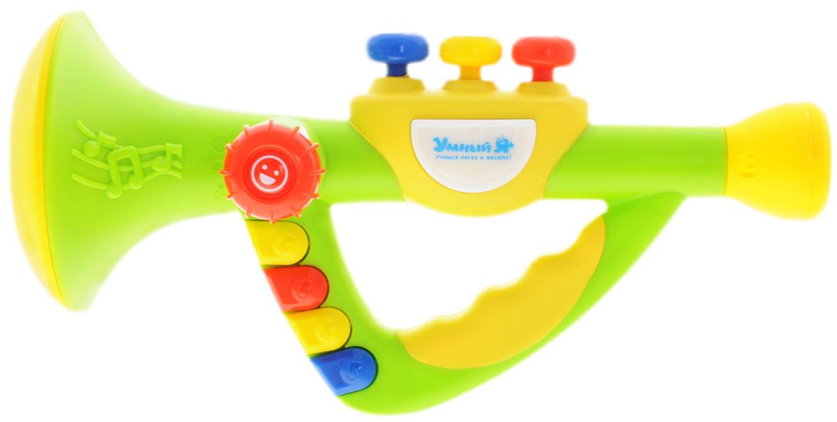 Zhorya Музыкальная дудочкаХ75619Духовые музыкальные инструменты от Zhorya - это игрушки с кнопочками, нажимая на которые ребенок будет извлекать звуки музыки. Музыкальная дудочка Zhorya развивает у детей легкие, мелкую моторику, а также слух, музыкальные способности. Кроме того, игрушка снабжена звуковыми (поет песенки, читает стихи) и световыми эффектами. Для работы игрушки необходимы 3 батарейки типа АА (не входят в комплект).