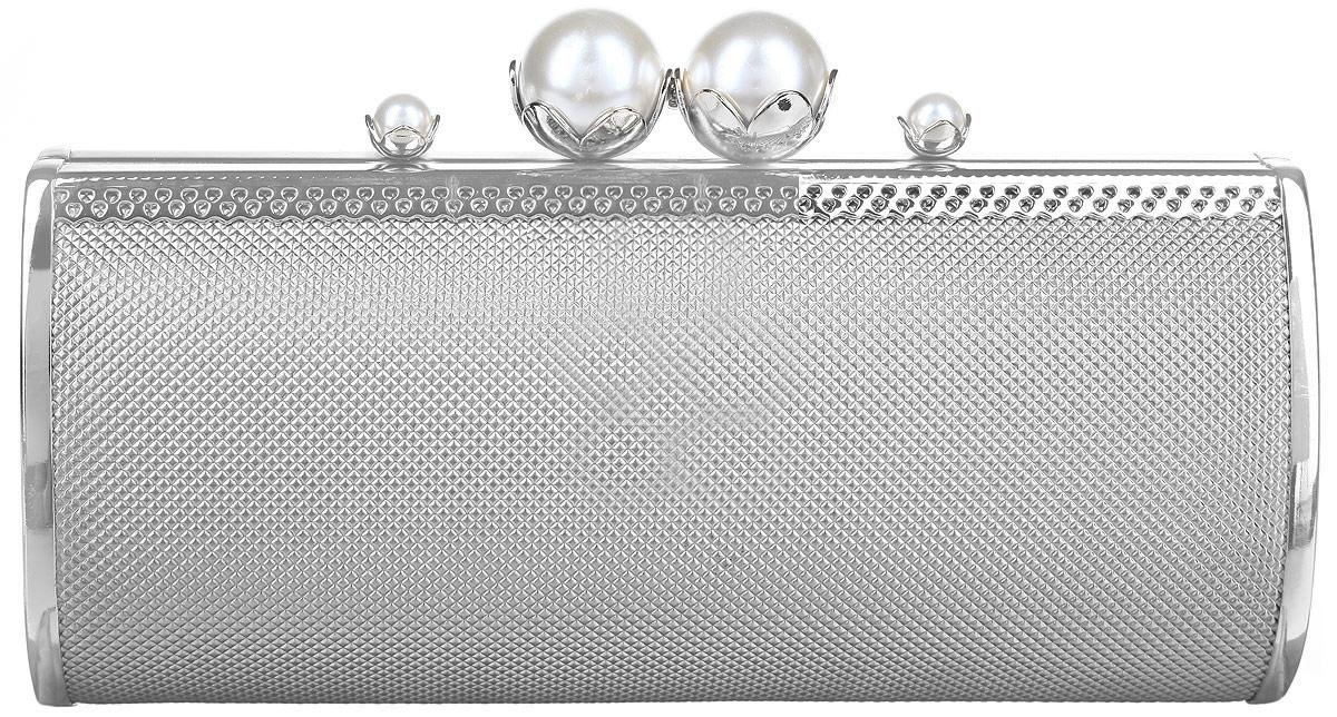 Клатч Модные истории, цвет: серебристый. 3/0177 3/0177/888
