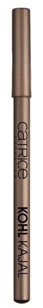CATRICE Контур для глаз Kohl Kajal 210 Brownzer бронзовый, 1,1гр54356Идеальный карандаш для выполнения макияжа Smokey Eyes. Стойкий, хорошо тушуется, имеет восковую основу. Создает мягкий эффектный контур.