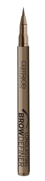CATRICE Маркер для бровей Longlasting Brow Definer 020 flASHy Brows светло-коричневый, 1мл79150Мастерский результат! Инновационный маркер для бровей Longlasting Brow Definer с уникальной жидкой текстурой придает бровям выразительность и естественный цвет. Благодаря сверхтонкому аппликатору Вы с легкостью добьетесь желаемого результата и сможете без особенных усилий подчеркнуть брови и скорректировать их форму