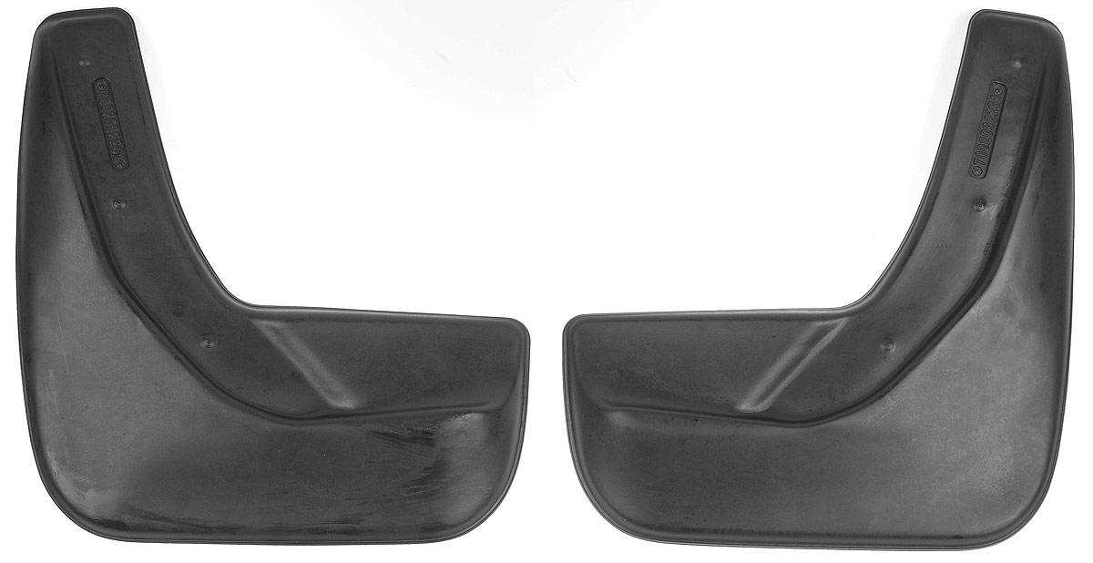 Комплект задних брызговиков L.Locker, для Ford Explorer V (10-), 2 шт7002092261Комплект L.Locker состоит из 2 задних брызговиков, изготовленных из высококачественного полиуретана. Уникальный состав брызговиков допускает их эксплуатацию в широком диапазоне температур: от -50°С до +50°С. Изделия эффективно защищают кузов автомобиля от грязи и воды, формируют аэродинамический поток воздуха, создаваемый при движении вокруг кузова таким образом, чтобы максимально уменьшить образование грязевой измороси, оседающей на автомобиле. Разработаны индивидуально для каждой модели автомобиля. С эстетической точки зрения брызговики являются завершением колесных арок. Установка брызговиков достаточно быстрая. В комплект входят необходимые крепежи и инструкция на русском языке. Комплектация: 2 шт. Размер брызговика: 29 см х 31,5 см х 3 см.
