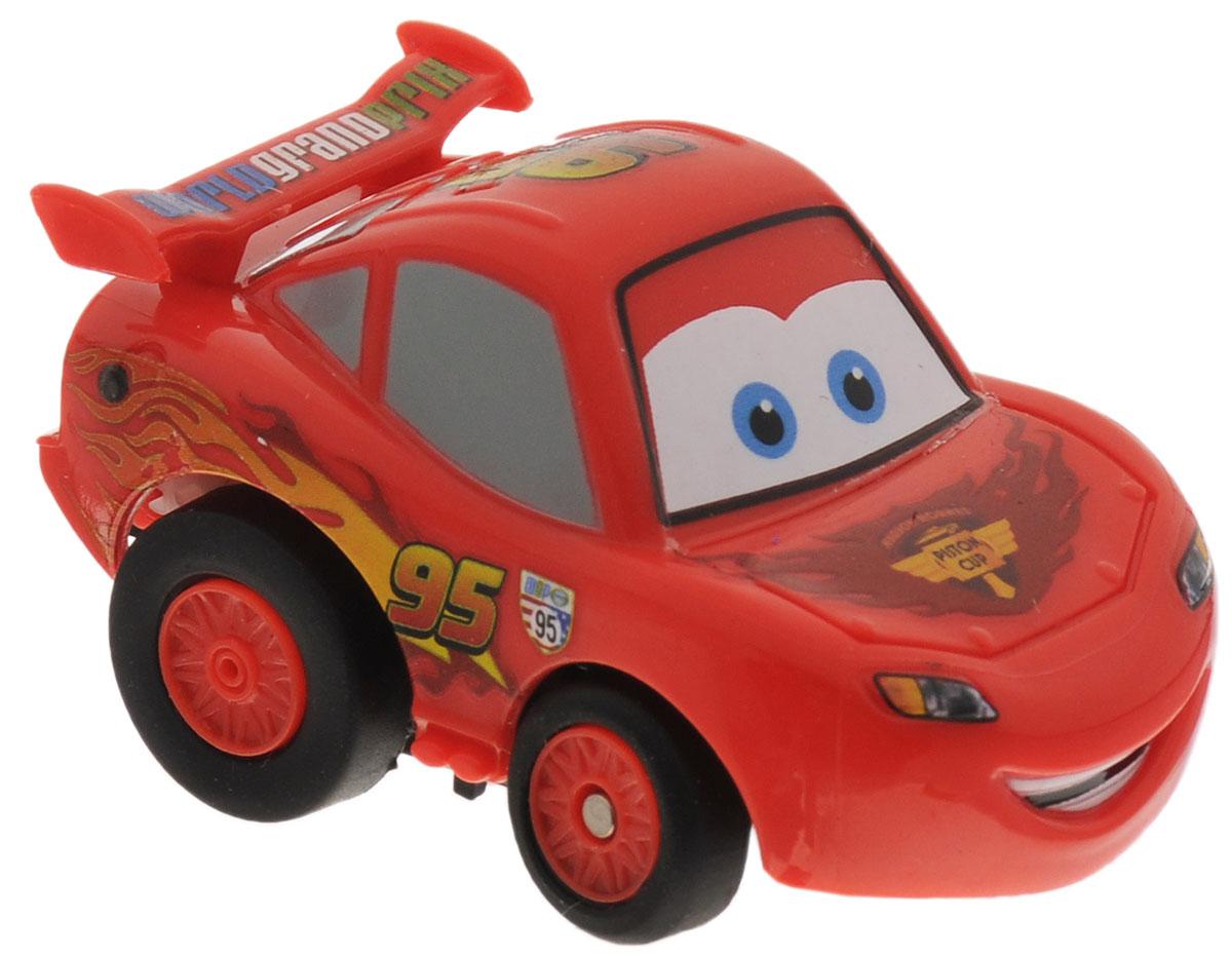Dickie Toys Машинка на инфракрасном управлении Тачки McQueen3089513_ McQueenМашинка на инфракрасном управлении Dickie Toys Тачки: McQueen - это полная копия полюбившегося героя мультсериала Тачки, гоночного автомобиля Молнии МакКуина. Игрушка может двигаться вперед, дает задний ход, поворачивает влево и вправо, останавливается.Точная настройка управления, 2 скорости, подзарядка от пульта дистанционного управления сделают игру комфортной и увлекательной. Машинка на инфракрасном управлении Dickie Toys Тачки: McQueen станет отличным подарком поклоннику этого популярного мультфильма! Игрушка работает от встроенного аккумулятора. Для работы пульта управления необходимы 4 батарейки типа ААА (не входят в комплект).