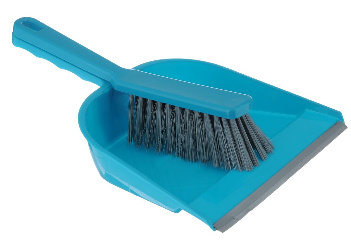 Набор для уборки York, 2 предмета. 62026202Набор для уборки York состоит из совка и щетки, изготовленных из высококачественного пластика. Вместительный совок удерживает собранный мусор, а также позволяет эффективно и быстро совершать уборку в любом помещении. Прорезиненный край совка обеспечивает наиболее плотное прилегание к полу. Щетка имеет удобную форму, позволяющую вымести мусор даже из труднодоступных мест. Совок и щетка оснащены ручками с отверстиями для подвешивания. С набором York уборка станет легче и приятнее. Общая длина щетки: 28 см. Размер рабочей поверхности щетки: 13 см х 5 см х 5 см. Длина совка: 32 см. Размер рабочей части совка: 22 см х 19 см х 6 см.
