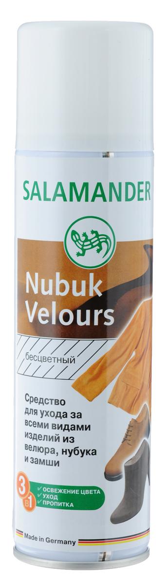 Средство Salamander Nubuk Velours для ухода за всеми видами изделий из велюра, нубука и замши, 250 мл665685,673154Высококачественное средство Salamander Nubuk Velours подходит для ухода за всеми видами изделий из велюра, нубука и замши. Оно великолепно освежает цвет и ухаживает за изделиями. Пропитывает и защищает от влаги и глубоких загрязнений. Состав: более 30% алифатические углеводороды, изопропиловый спирт, фторкарбоновый полимер, силиконовое масло. Объем: 250 мл. Товар сертифицирован.