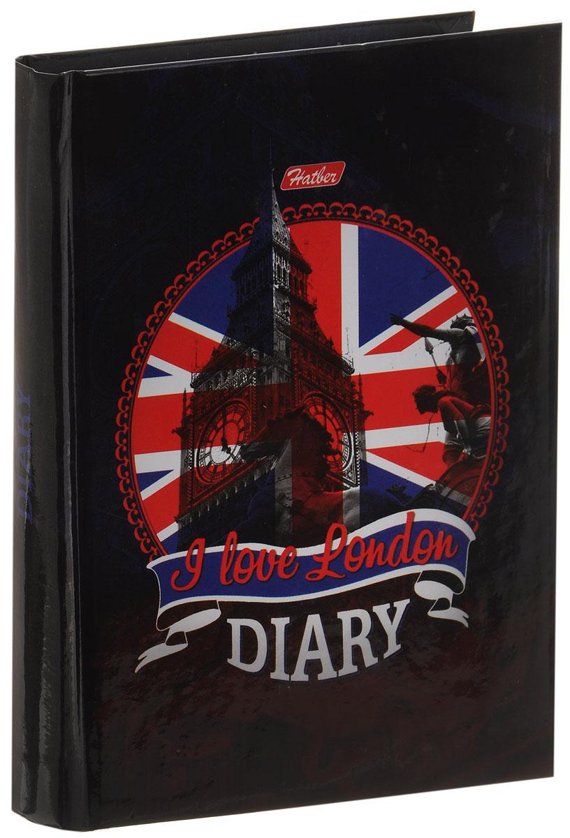 Hatber Ежедневник London недатированный 160 листов