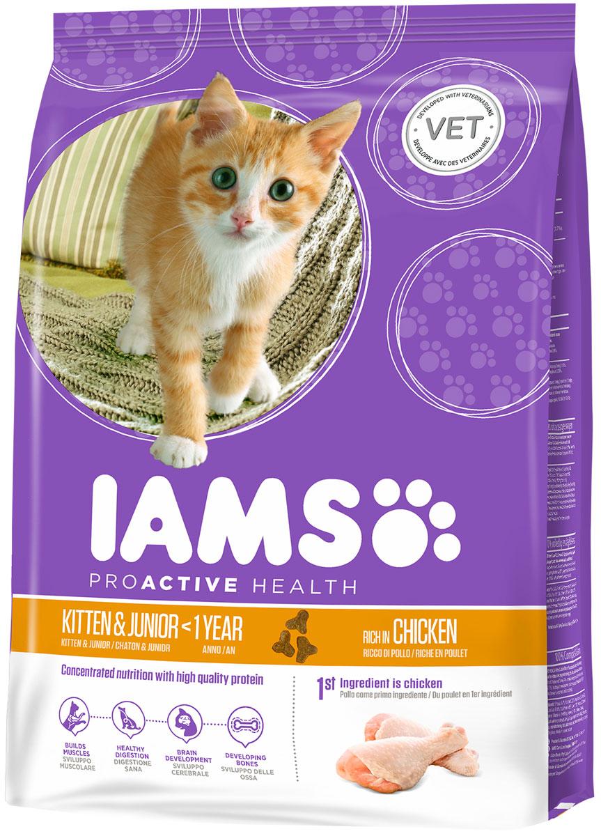 Корм сухой Iams Kitten для котят и кошек во время беременности и лактации, с курицей, 850 г81411191Сухой корм Iams Kitten является полноценным сбалансированным питанием для котят от 1 до 12 месяцев, беременных и лактирующих кошек. Не содержит искусственных красителей, консервантов и вкусовых добавок. Iams дает вашей кошке все необходимые питательные вещества для поддержания все 7 признаков здорового животного: - Хорошее пищеварение: пребиотики и пульпа сахарной свеклы поддерживают развитие пищеварительной системы вашего котенка. - Сильная иммунная система: корм обогащен антиоксидантами, которые способствуют поддержанию сильной иммунной системы. - Оптимальный рост: высококачественные белки способствуют росту и развитию сильной мускулатуры вашего котенка. - Здоровье кожи и шерсти: содержание Омега-6 и Омега-3 жирных кислот для здоровья кожи и блеска шерсти. - Отличное зрение: докозагексаеновая (DHA) кислота ряда Омега-3 способствует развитию органов зрения. - Способность к обучению: докозогексаеновая (DHA) кислота ряда Омега-3 способствует...
