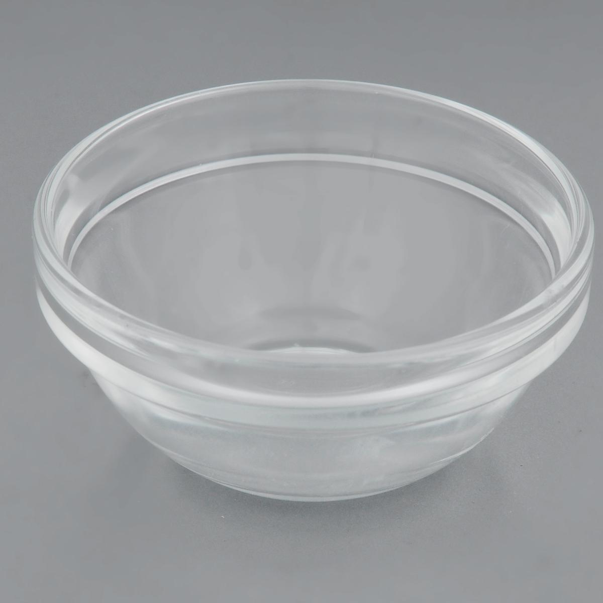Салатник Luminarc Удобное хранение, диаметр 7 смH9671Салатник Luminarc Удобное хранение изготовлен из натрий-кальций-силикатного стекла и предназначен для красивой сервировки стола. Салатник сочетает в себе оригинальный дизайн и функциональность. Диаметр (по верхнему краю): 7 см. Диаметр дна: 4 см.