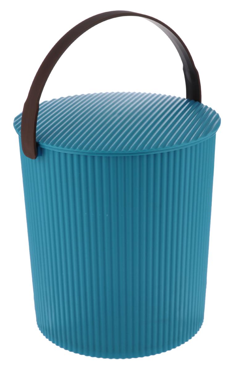 Ведро-стул Изумруд Grande, цвет: морская волна, 20 л205_морская волнаВедро-стул Изумруд Grande выполнено из прочного пластика. Изделие может быть использовано, как стул где-нибудь на природе, как ведро для дома, для рыбалки, для похода. Имеет множество ребер жесткости, которые обеспечивают ему дополнительную прочность. Интересный дизайн впишется в любой интерьер дома, офиса, дачи и сделает его более оригинальным. Диаметр (по верхнему краю): 31 см. Высота: 33 см. Уважаемые клиенты! Обращаем ваше внимание на допустимые незначительные изменения в дизайне товара, некоторые детали могут отличаться по цвету от товара, изображенного на фотографии.
