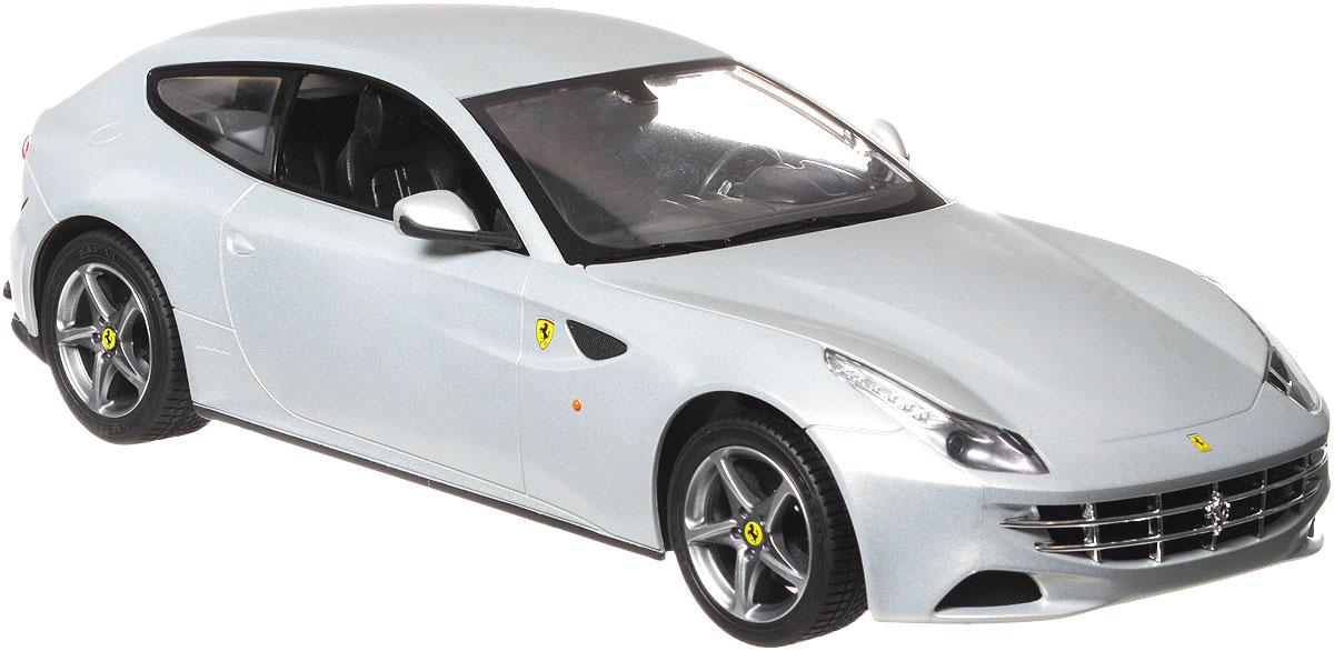 Rastar Радиоуправляемая модель Ferrari FF цвет серебристый47400_серебристыйРадиоуправляемая модель Rastar Ferrari FF станет отличным подарком любому мальчику! Все дети хотят иметь в наборе своих игрушек ослепительные, невероятные и крутые автомобили на радиоуправлении. Тем более, если это автомобиль известной марки с проработкой всех деталей, удивляющий приятным качеством и видом. Одной из таких моделей является автомобиль на радиоуправлении Rastar Ferrari FF. Это точная копия настоящего авто в масштабе 1:14. Возможные движения: вперед, назад, вправо, влево, остановка. Имеются световые эффекты. Пульт управления работает на частоте 40 MHz. Для работы игрушки необходимы 5 батареек типа АА (не входят в комплект). Для работы пульта управления необходима 1 батарейка 9V типа Крона (не входит в комплект).