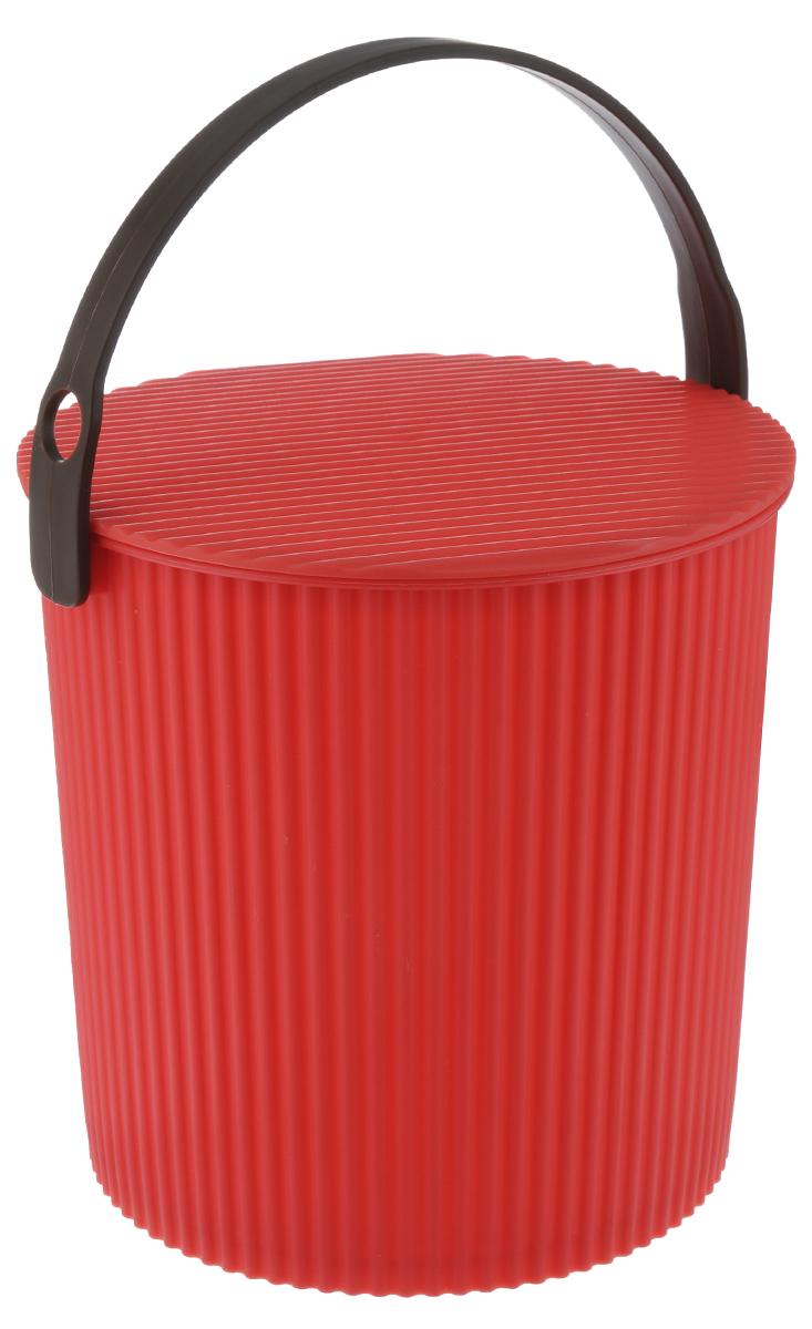 Ведро-стул Изумруд Bambini, цвет: красный, 10 л102-красноеВедро-стул Изумруд Bambini выполнено из прочного пластика. Изделие может быть использовано, как стул где-нибудь на природе, как ведро для дома, для рыбалки, для похода. Имеет множество ребер жесткости, которые обеспечивают ему дополнительную прочность. Интересный дизайн впишется в любой интерьер дома, офиса, дачи и сделает его более оригинальным. Диаметр (по верхнему краю): 26 см. Высота: 26 см. Уважаемые клиенты! Обращаем ваше внимание на цвет ручек изделия: товар поставляется в цветовом ассортименте. Поставка осуществляется в зависимости от наличия на складе.