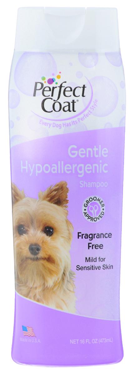 Шампунь для собак 8 in 1 Perfect Coat, гипоаллергенный, 473 мл1006107Гипоаллергенный шампунь 8 in 1 Perfect Coat разработан специально для чувствительной кожи. Мягкая, не вызывающая слез формула идеальна для собак, страдающих от аллергии на красители и ароматизаторы. Успокаивающие компоненты Алоэ вера оставляют шерсть мягкой и блестящей, не раздражая кожу. Шампунь очищает и восстанавливает шерсть. Не содержит красителей и ароматизаторов. Легко смываемая формула. Применение: Обильно нанесите на влажную шерсть. Распределите шампунь массирующими движениями, продвигаясь от головы к хвосту и избегая попадания шампуня в глаза. Полностью смойте водой. При необходимости повторить. Расчешите шерсть, чтобы она не спуталась, и высушите полотенцем. Состав: вода, натрия лаурет сульфат, динатрия олеамидо МЕА сульфосук-цинат, кокамид DEA, динатрия кокамфодиацетат, кокамидопропил бетаин, натрия хлорид, глицерин, гель Алоэ Вера. Товар сертифицирован.