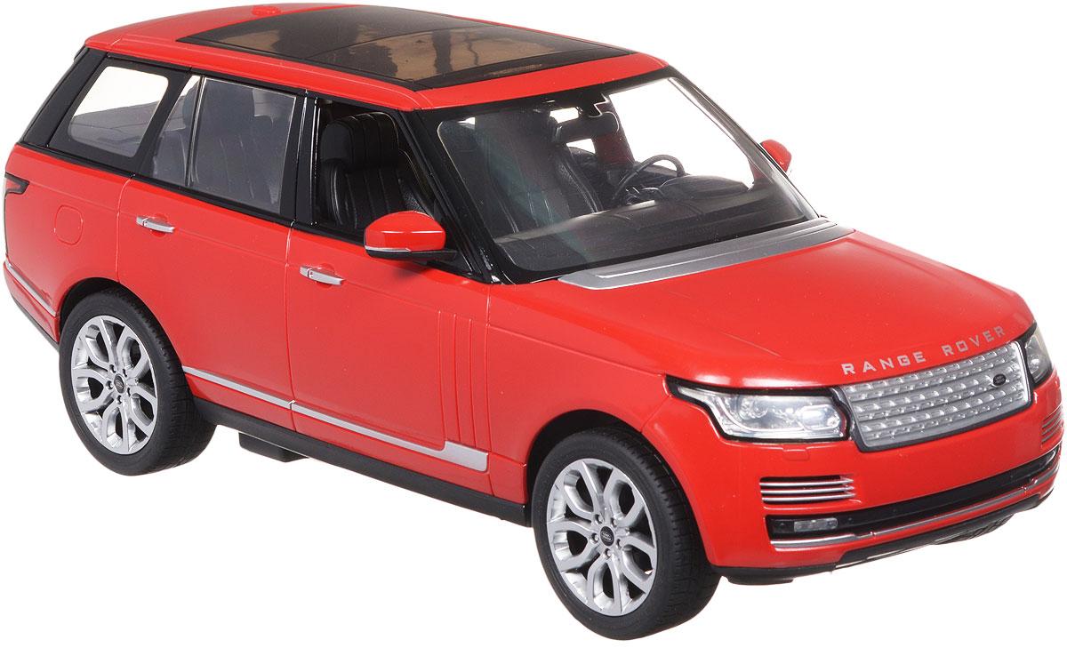 Rastar Радиоуправляемая модель Range Rover Sport цвет красный масштаб 1:1449700_красныйРадиоуправляемая модель Rastar Range Rover Sport станет отличным подарком любому мальчику! Все дети хотят иметь в наборе своих игрушек ослепительные, невероятные и крутые автомобили на радиоуправлении. Тем более, если это автомобиль известной марки с проработкой всех деталей, удивляющий приятным качеством и видом. Одной из таких моделей является автомобиль на радиоуправлении Rastar Range Rover Sport. Это точная копия настоящего авто в масштабе 1:14. Возможные движения: вперед, назад, вправо, влево, остановка. Имеются световые эффекты. Пульт управления работает на частоте 27 MHz. Для работы игрушки необходимы 5 батареек типа АА (не входят в комплект). Для работы пульта управления необходима 1 батарейка 9V типа Крона (не входит в комплект).