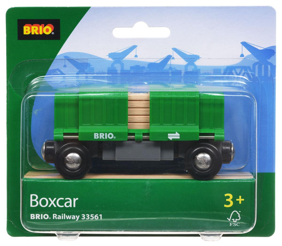 Brio Железная дорога Вагон раздвижной33561Вашему ребенку обязательно пригодится в игре с железной дорогой Вагон раздвижной. Вагон изготовлен из пластика, металла и дерева. Сверху на вагоне имеются пластиковые раздвижные вставки. По краям вагона имеются магнитные вставки, с помощью которых вагончики соединяются с паровозом, или друг с другом. С этим элементом ребенок может значительно разнообразить игры с железной дорогой. Вагон совместим со всеми железными дорогами и паровозиками Brio. Железные дороги позволяют ребенку не только получать удовольствие от игры, но и развивать пространственное воображение, мелкую моторику и координацию движений.