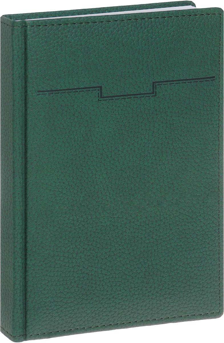 Hatber Ежедневник Armonia Elefant недатированный 176 листов цвет зеленый