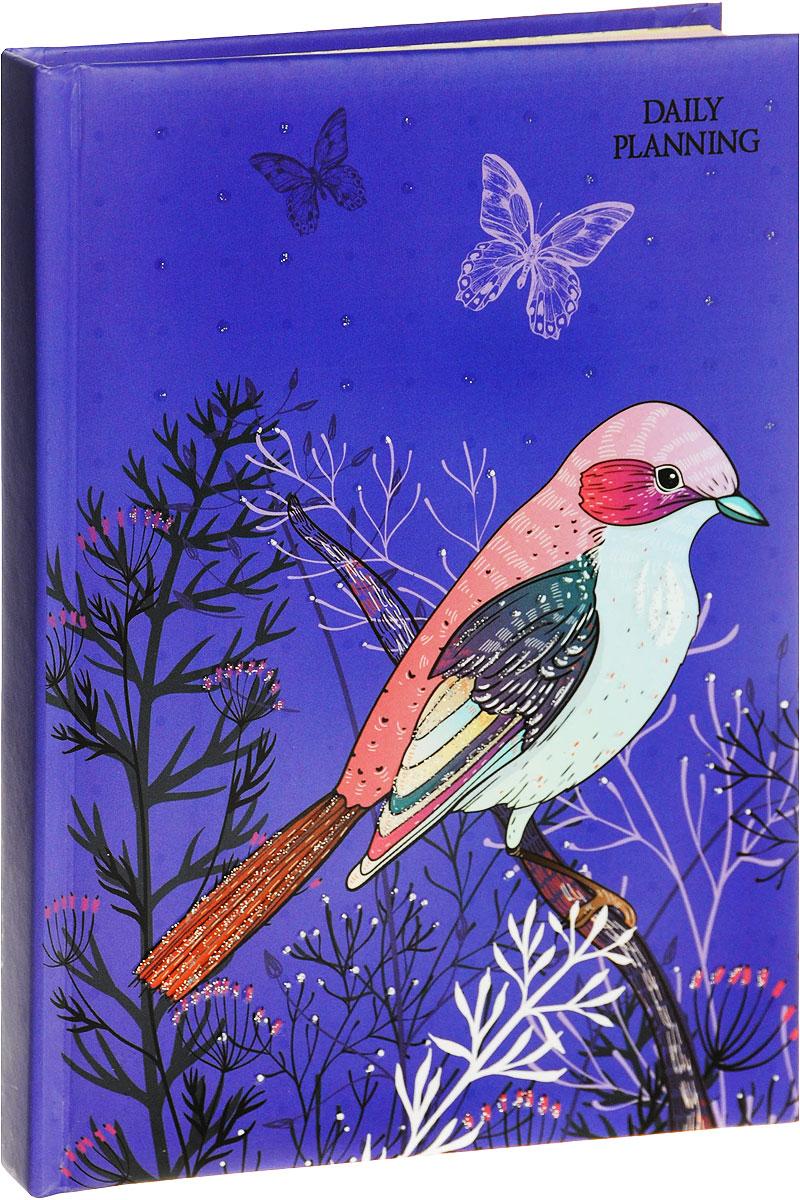 Канц-Эксмо Ежедневник Мода и стиль Чудесная птица недатированный 112 листов