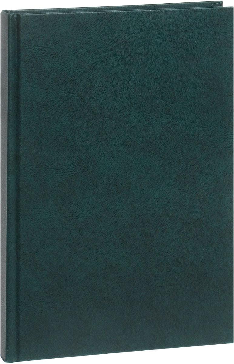 Канц-Эксмо Ежедневник недатированный 152 листа цвет зеленый