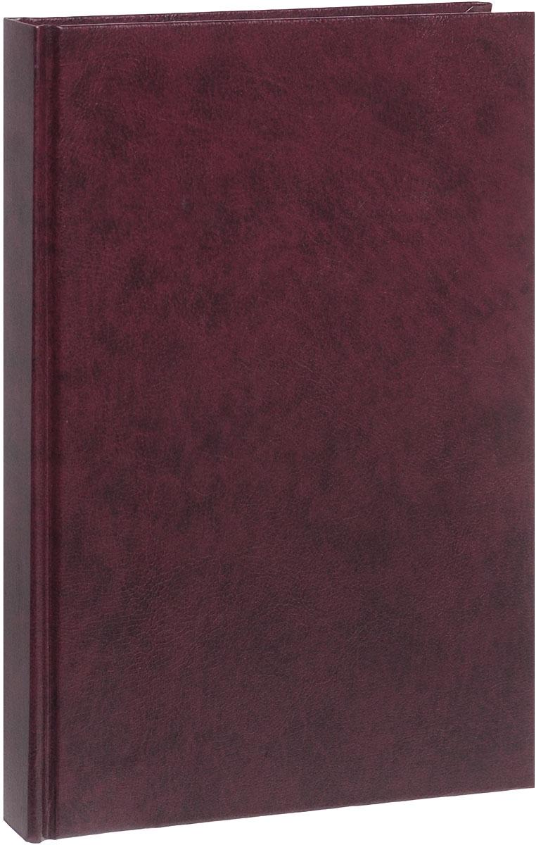 Listoff Ежедневник недатированный 152 листа цвет темно-бордовый