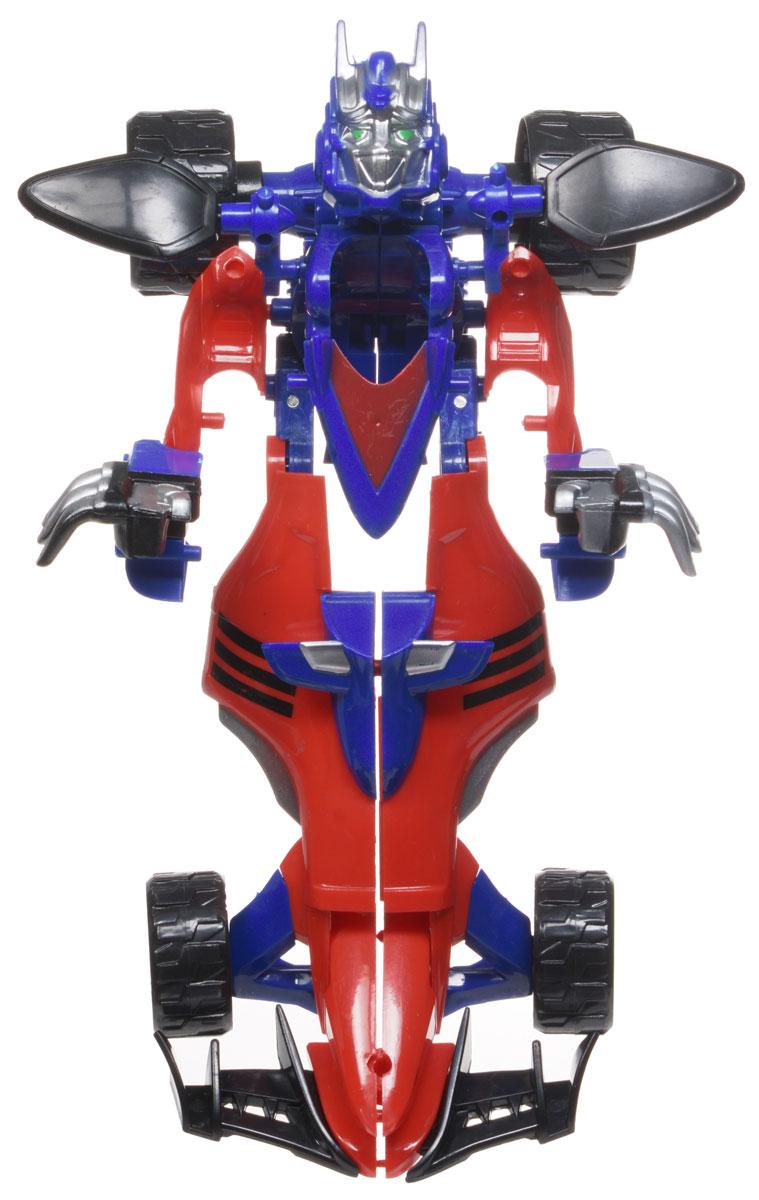 Тилибом Робот-трансформер Стражи галактики цвет синий красныйТ80486Оригинальный робот-трансформер из серии Стражи галактики порадует вашего ребенка и надолго займет его внимание. Он выполнен из прочного пластика красного, черного и синего цвета. Конструкция робота имеет подвижные соединения, благодаря чему, ему можно придавать различные позы. Трансформер имеет две вариации: первая - робот с грозным оружием, вторая - гоночная машина. Превратить робота в транспортное средство поможет инструкция на упаковке. Порадуйте ребенка таким замечательным подарком!