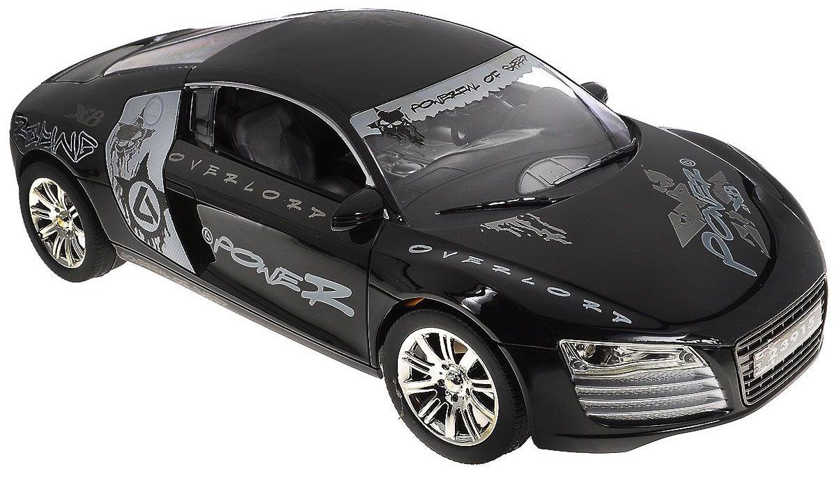 Balbi Машина на радиоуправлении Power X8RCS-1601 DМашина на радиоуправлении Power X8 с ярким оригинальным дизайном, непременно порадует юного гонщика. Управлять автомобилем помогает удобный практичный пульт. Корпус автомобиля изготовлен из прочного пластика. Машинка движется вперед, назад, влево и вправо. При движении вперед у автомобиля загораются фары, при движении назад стоп-сигналы. Такая игрушка понравится любому мальчишке и принесет массу позитивных эмоций! Радиоуправляемые игрушки способствуют развитию координации движений, моторики и ловкости. Модель работает от аккумулятора (зарядное устройство в комплекте). Для работы пульта необходимо докупить 2 батарейки типа АА (не входят в комплект). Рекомендуемый возраст: от 5 лет.